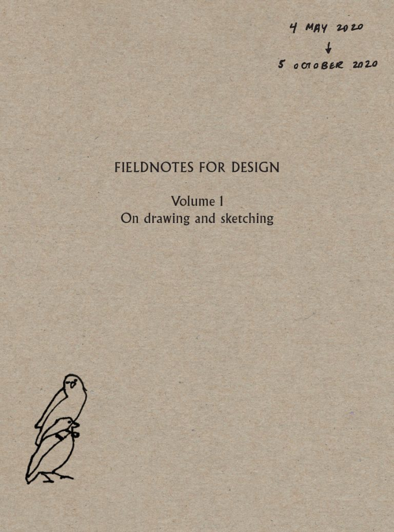 Fieldnotes for Design